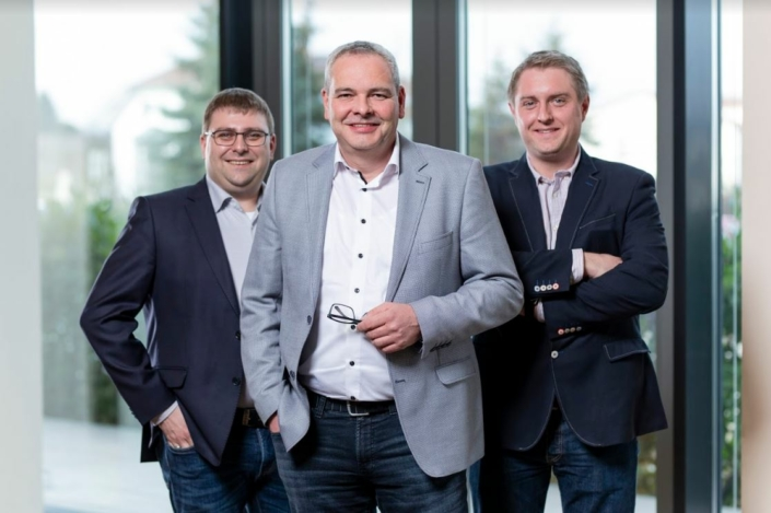 Cord Rodenberg, Thorsten Gerling, Ingo Heuer: Neue Geschäftsführung der GeKu Automatisierungssysteme | New managing directors of GeKu Automatisierungssysteme