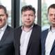 Jörg Kilb, Frank Konrad, Philipp Klaschka: Neue Geschäftsführung der HAHN Automation | New managing directors of HAHN Automation