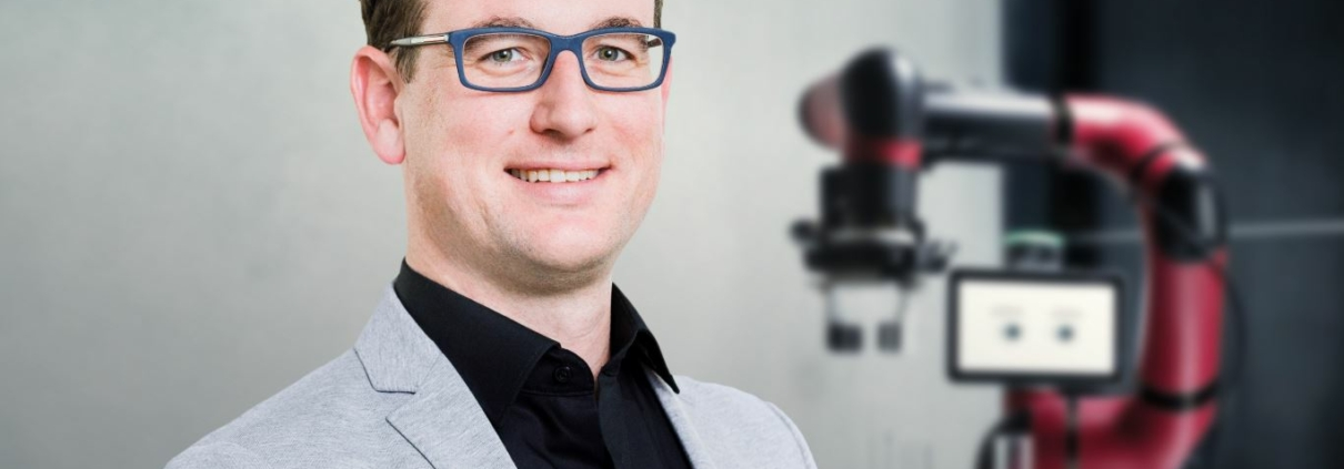 CEO of Rethink Robotics, Daniel Bunse