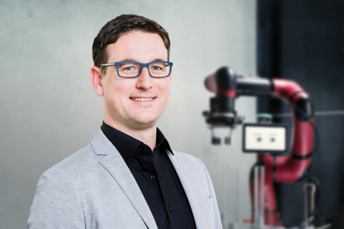 CEO of Rethink Robotics, Daniel Bunse