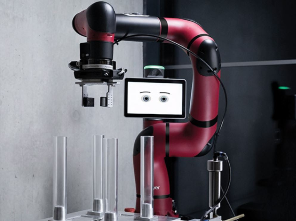 Sawyer BLACK Edition - Ein Cobot des Unternehmens Rethink Robotics | Sawyer BLACK Edition - A cobot of the manufacturer Rethink Robotics