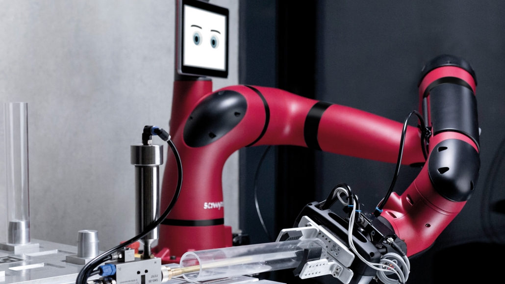 Cobot Sawyer - Ein Produkt der Robotics Division | Cobot Sawyer - A product of the Robotics Division