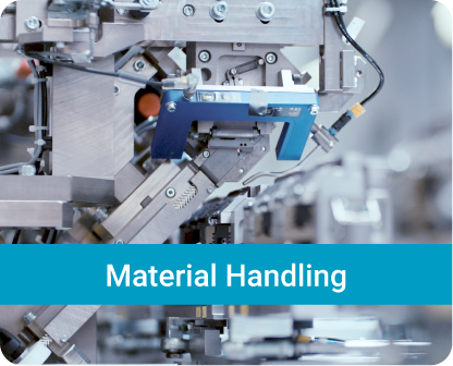 Solution examples of the HAHN Group Divisions_Material Handling