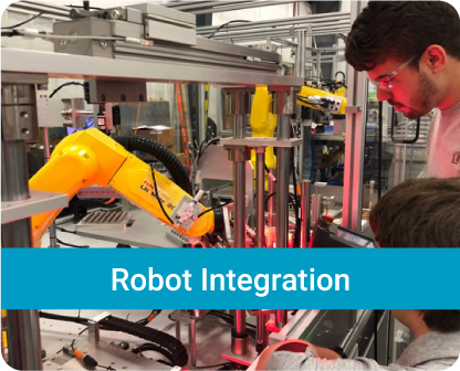 Solution examples of the HAHN Group Divisions_Robot Integration