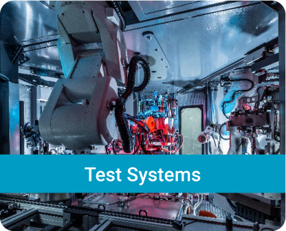 Solution examples of the HAHN Group Divisions_Test Systems